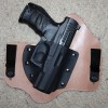 Walther PPQ in a Theis Holster