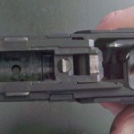 Walther PPQ - Inside the frame