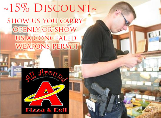 All Around Pizza Discount