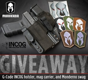 Monderno/G-CODE/Haley Strategic Giveaway