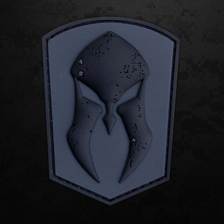 subdued pvc logo patch monderno