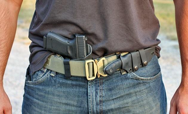 Boxer Tactical Zenith, Glock 19, Coye Knives Ridgeback