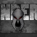 Monderno Grunge Logo Sticker