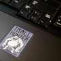Troll Hunter sticker on a laptop