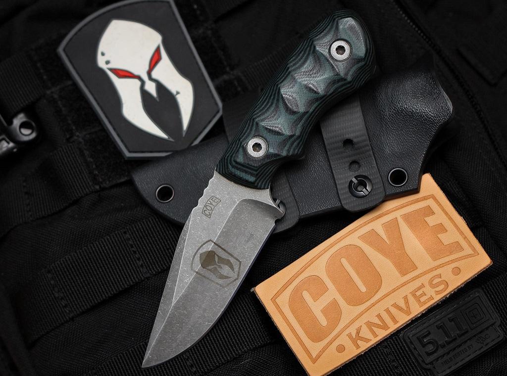 Coye Knives Ridgeback, photo by Robbie