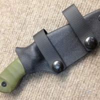 Boker/Coye Production Ridgeback Sheath, photo by Coye Knives