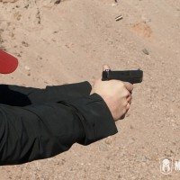 Brandon shooting the Glock 42