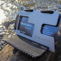 TRAYVAX wallet, image via TRAYVAX