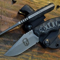 Monderno logo Coye ForeRunner, photo by Coye Knives