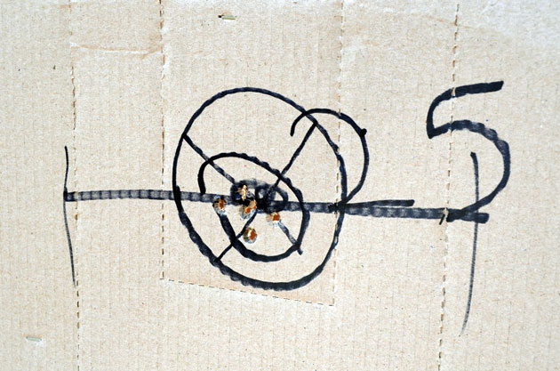 S3F Glock Barrel, 25 yards