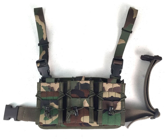 HSGI Padded Leg Panel Woodland