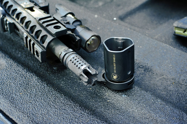 Griffin Armament  QD Blast Shield