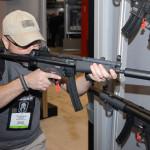 Paul rockin the MP5 .22 LR