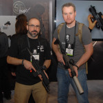 Paul and Dan with the SIG MPX