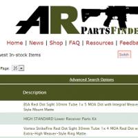 AR Parts Finder