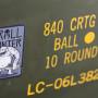 Troll Hunter sticker on an ammo can