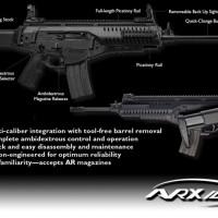 Beretta ARX100, graphic via Beretta